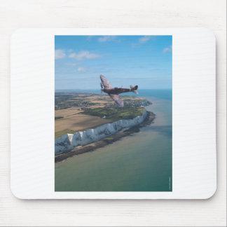 Spitfire over England Mouse Mat