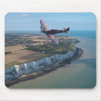 Spitfire over England Mouse Mat