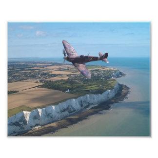 Spitfire over England Photo Print