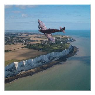 Spitfire over England Poster