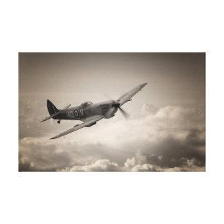 Spitfire Patrol Canvas Print