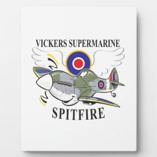 spitfire plaque