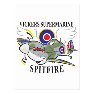 spitfire post cards