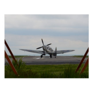 Spitfire Ready For Takeoff Postcard
