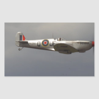 Spitfire Rectangular Sticker
