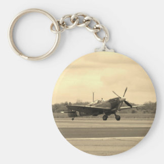 Spitfire Sepiatone Key Ring