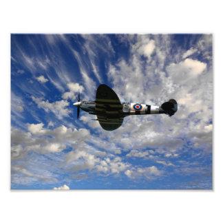 Spitfire Skies Photo Print