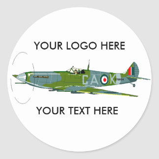 Spitfire Stickers