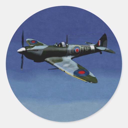 Spitfire Stickers