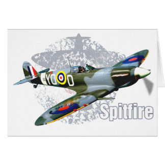 Spitfire Supermarine Card