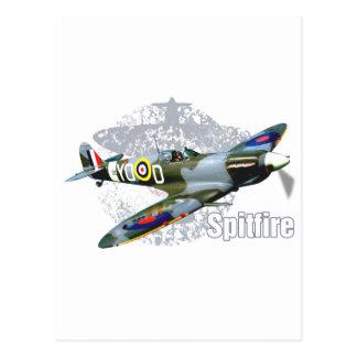 Spitfire Supermarine Postcard