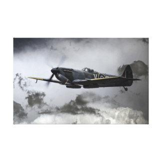 Spitfire TE311 Canvas Print