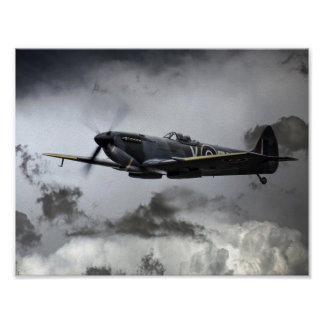 Spitfire TE311 Poster