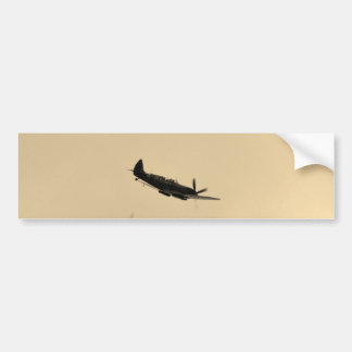 Spitfire Trainer In Flight Bumper Sticker