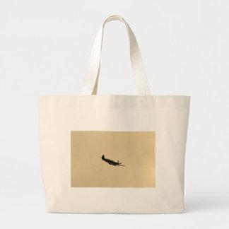Spitfire Trainer In Flight Large Tote Bag