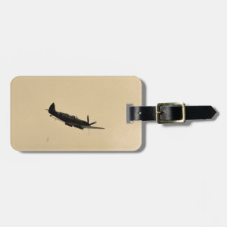 Spitfire Trainer In Flight Luggage Tag