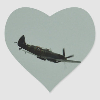 Spitfire Trainer Heart Sticker