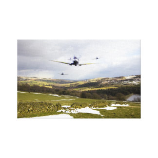Spitfire Trio Canvas Print