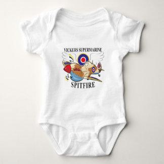 spitfire tropical version baby bodysuit