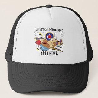 spitfire tropical version trucker hat