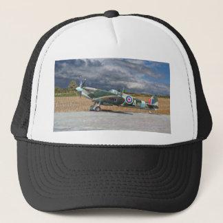Spitfire Under Storm Clouds Trucker Hat