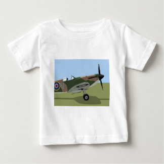Spitfire WW2 Fighter Baby T-Shirt