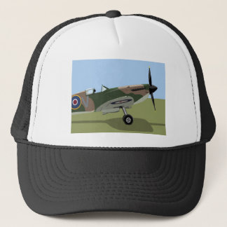 Spitfire WW2 Fighter Trucker Hat