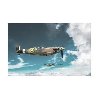 Spitfires Canvas Print