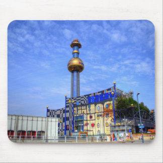 Spittelau waste incineration plant mouse pads