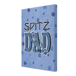 Spitz DAD Canvas Prints