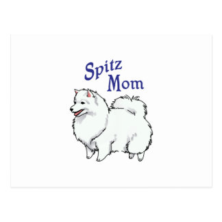Spitz Mom Postcard