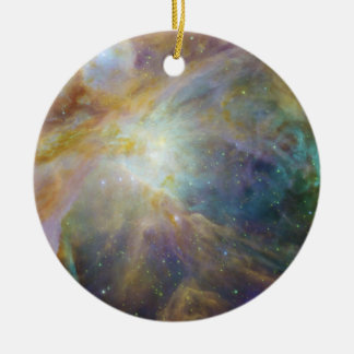 Spitzer and Hubble Create Colorful Masterpiece ai Ornament