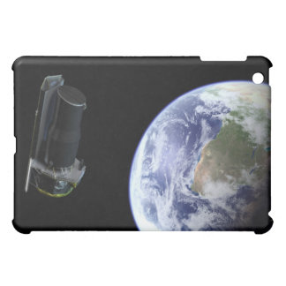 Spitzer departing the Earth soon after launch iPad Mini Covers