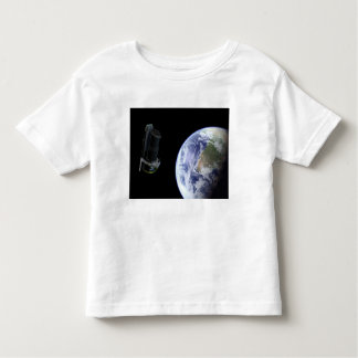 Spitzer departing the Earth soon after launch Toddler T-Shirt