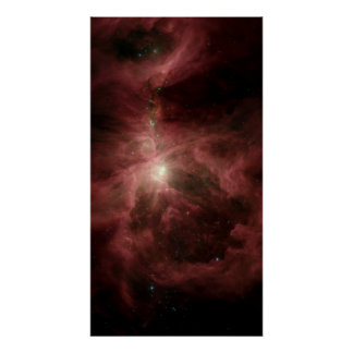 Spitzer's Orion Poster