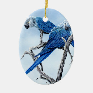 Spix Macaw gifts for the Spix lover Christmas Ornament