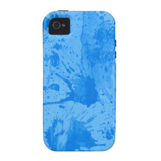 splash blue case for the iPhone 4