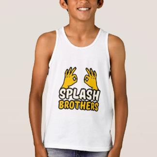 Splash brothers boys tank top