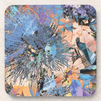 """Splash Collection"" - Pohutukawa Blue Coaster"