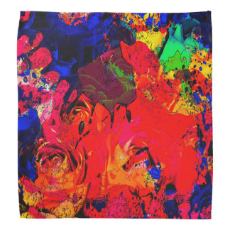 """Splash Collection"" - Roses Bandana"