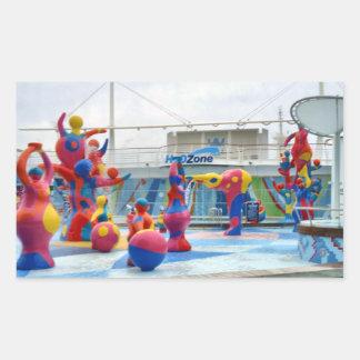 Splash Color Sticker