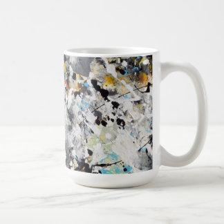 Splash Colors Basic White Mug