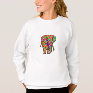 Splash Elephant Sweatshirt