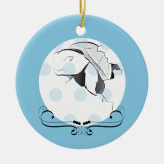 Splash Hatching Ornament