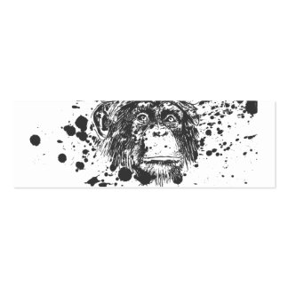 Splash Monkey Pack Of Skinny Business Cards