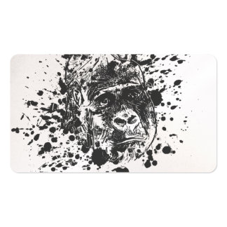 Splash Monkey Pack Of Standard Business Cards