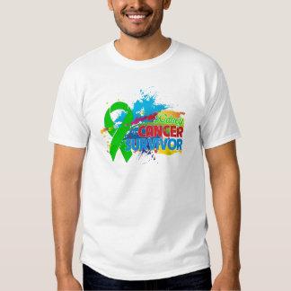 Splash of Color - Kidney Cancer Survivor Shirt