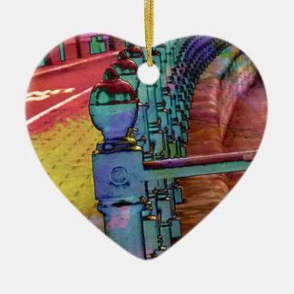 Splash of colour. christmas ornament