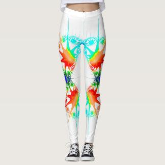 Splash of colour leggings