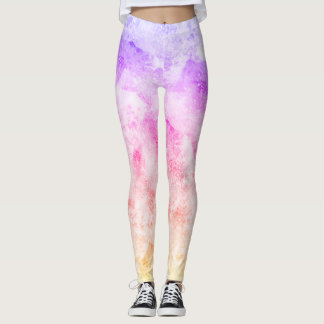 Splash of colour leggings